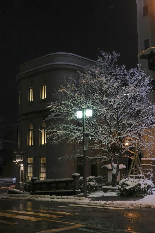 金沢文芸館 冬のイルミネーション