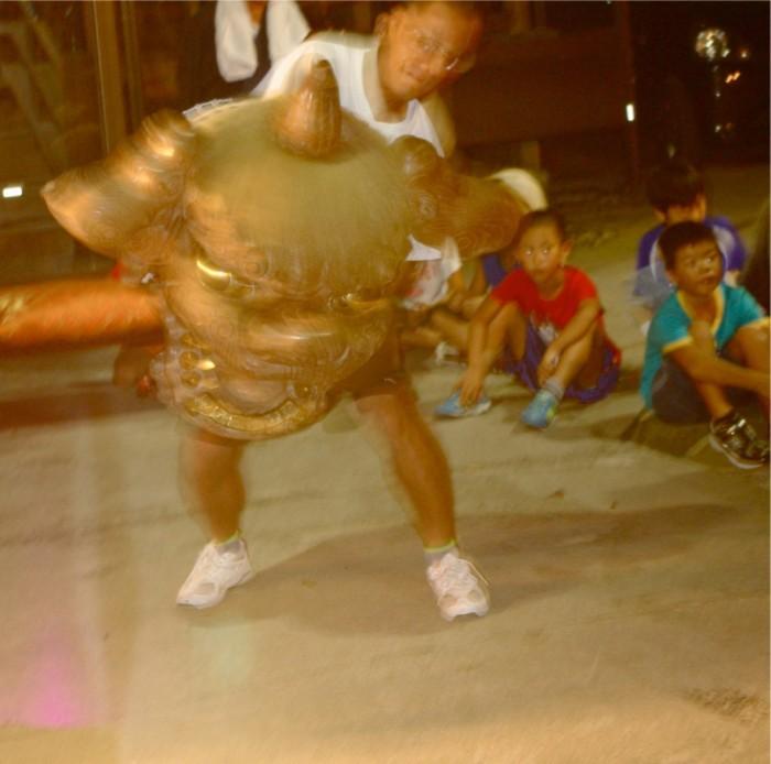 4−4加賀獅子舞稽古